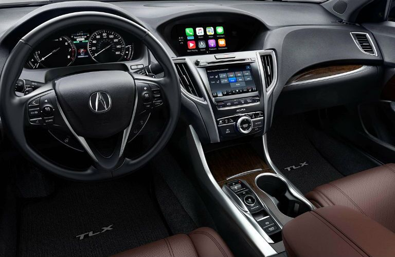 2018 Acura TLX SH-AWD with Advance Package and Espresso Interior