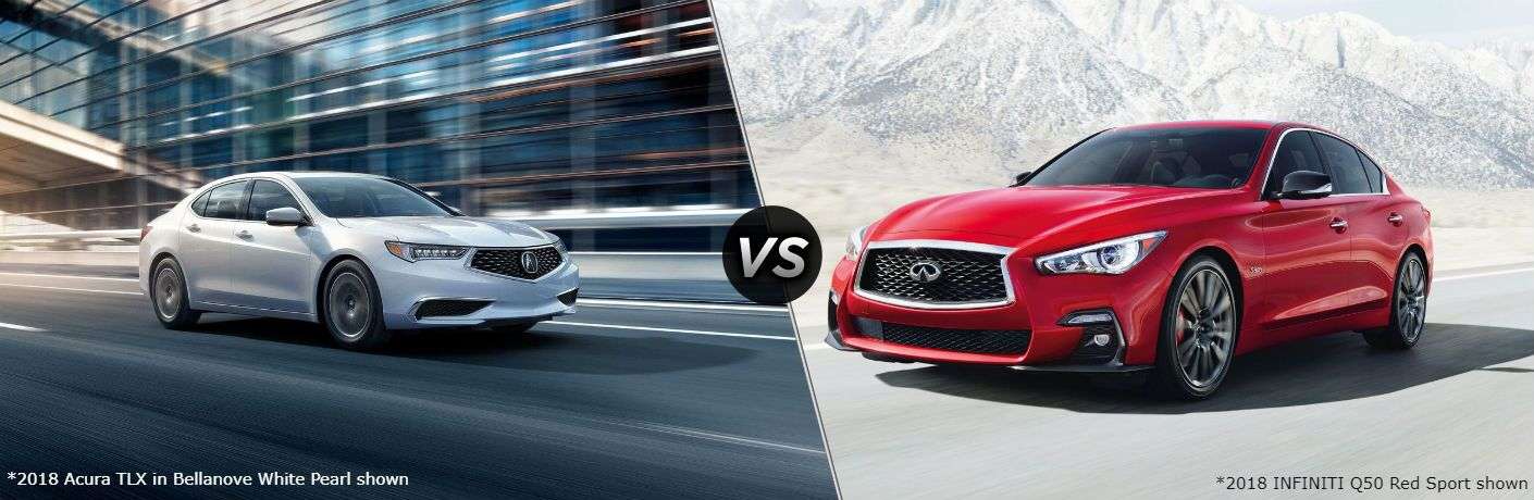 2018 Acura TLX vs 2018 INFINITI Q50