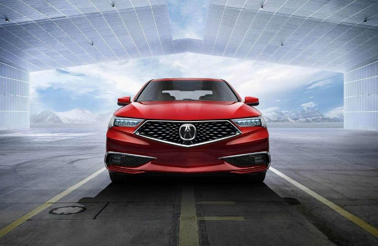 2019 Acura TLX V6 with Advance Package in San Marino Red