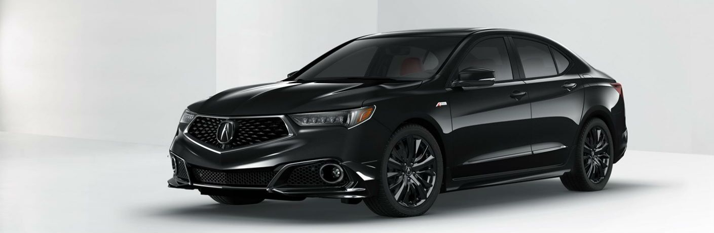 2019 Acura TLX with A-Spec Package in Crystal Black Pearl