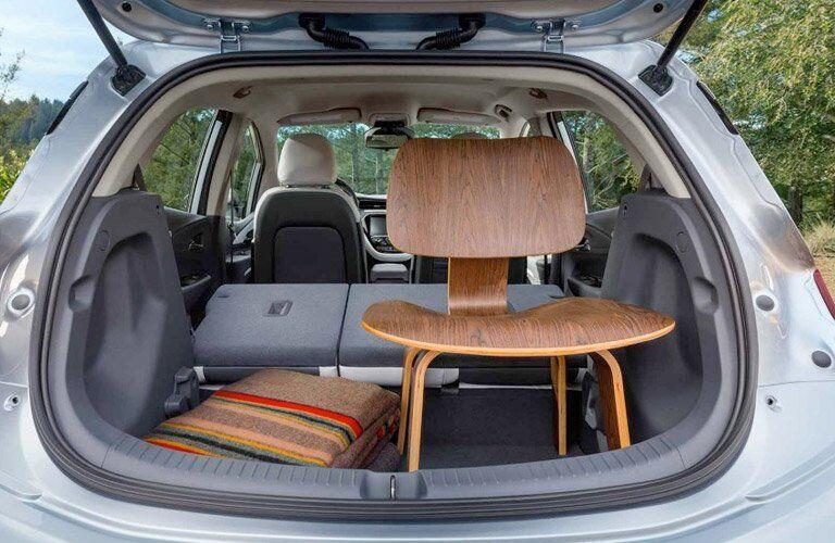 2017 Chevy Bolt EV cargo space