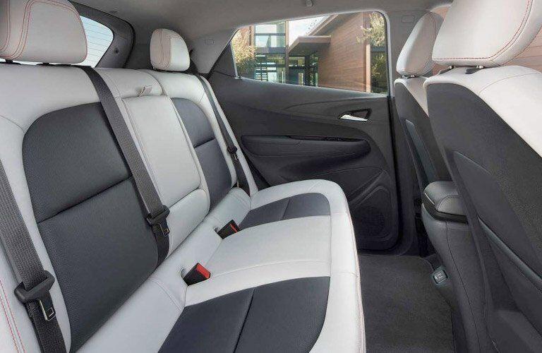 2017 Chevy Bolt EV rear seats