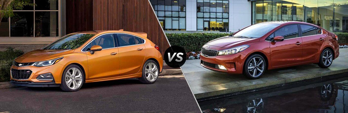 2017 Chevy Cruze vs 2017 Kia Forte