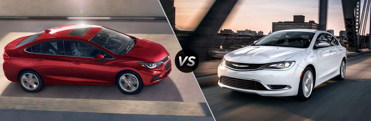 2017 Chevy Cruze vs 2017 Chrysler 200