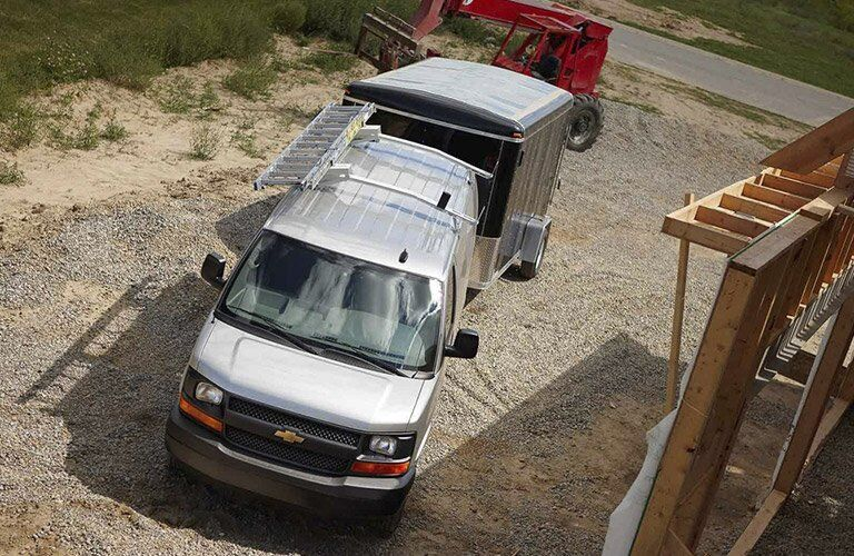 2017 Chevy Express 2500 towing capacity