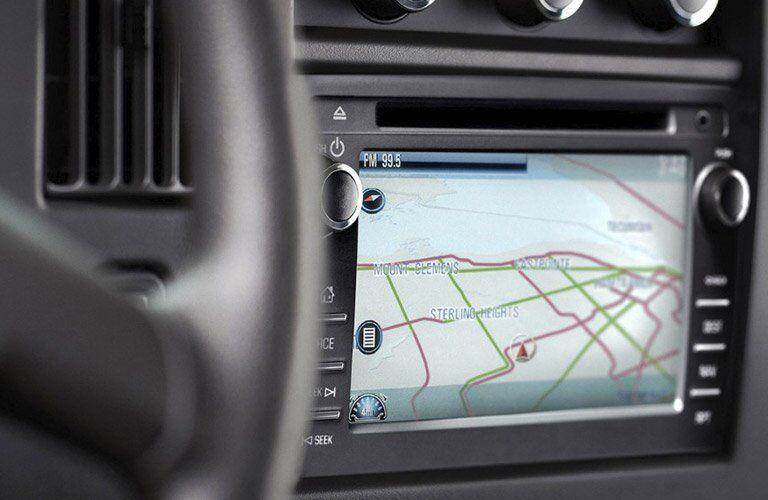 2017 Chevy Express 2500 navigation system