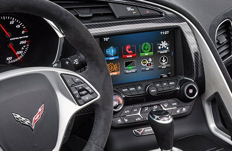 2017 Chevrolet Corvette technology features