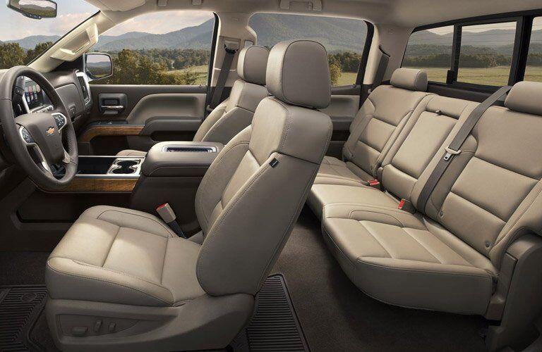 2017 Chevy Silverado 2500HD interior comfort