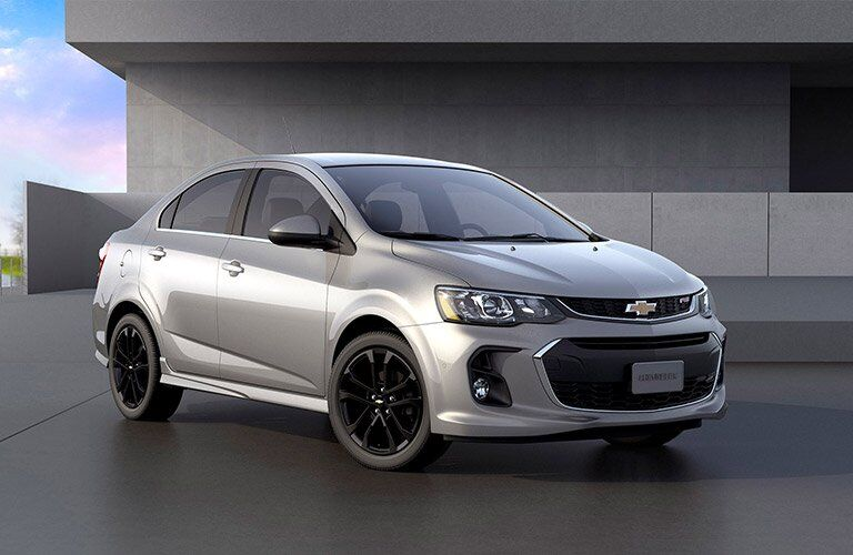 2017 Chevy Sonic sedan front view and style