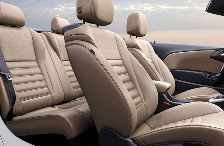 2018 Buick Cascada passenger seats