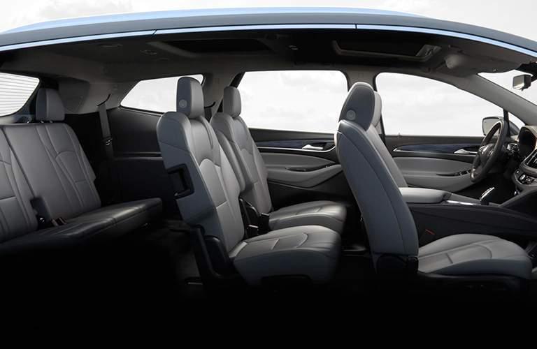 2018 Buick Enclave passenger space