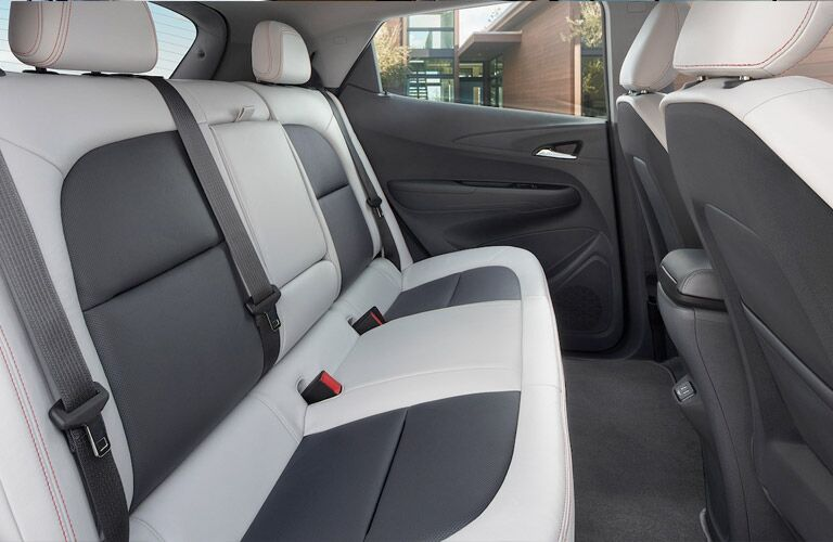 2018 Chevy Bolt EV rear passenger seats