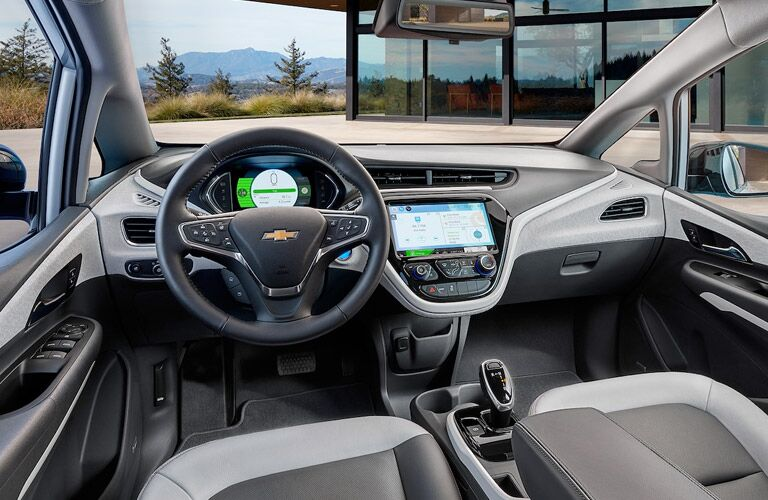 2018 Chevy Bolt EV front interior dashboard