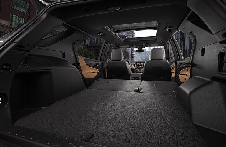 2018 Chevrolet Equinox rear interior cargo space