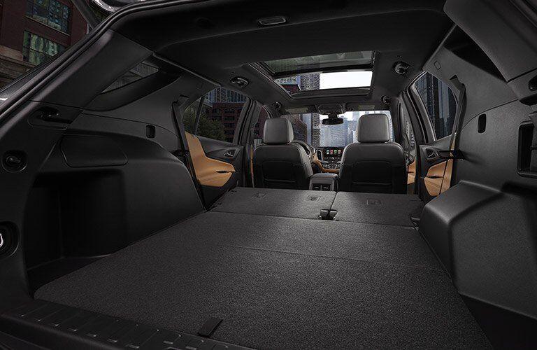 2018 Chevy Equinox cargo space
