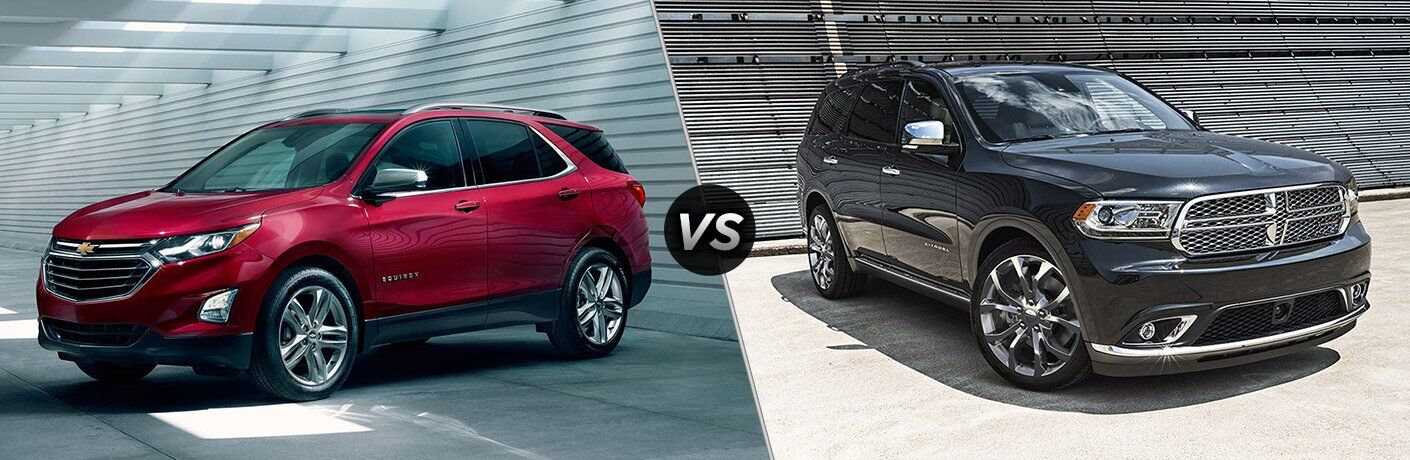 2018 Chevy Equinox vs 2017 Dodge Durango