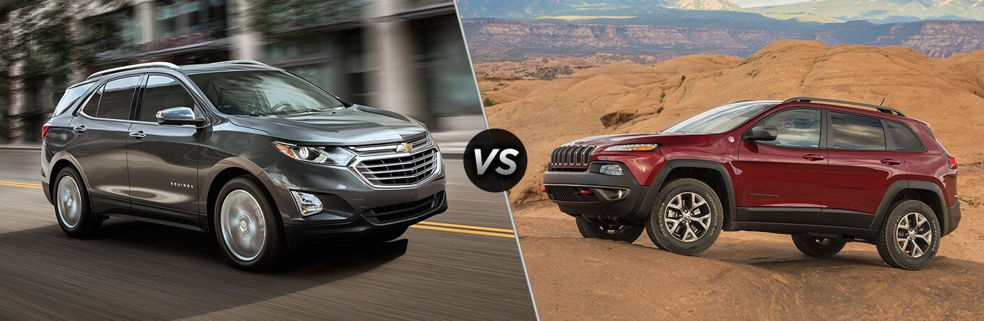 2018 Chevy Equinox vs 2017 Jeep Cherokee