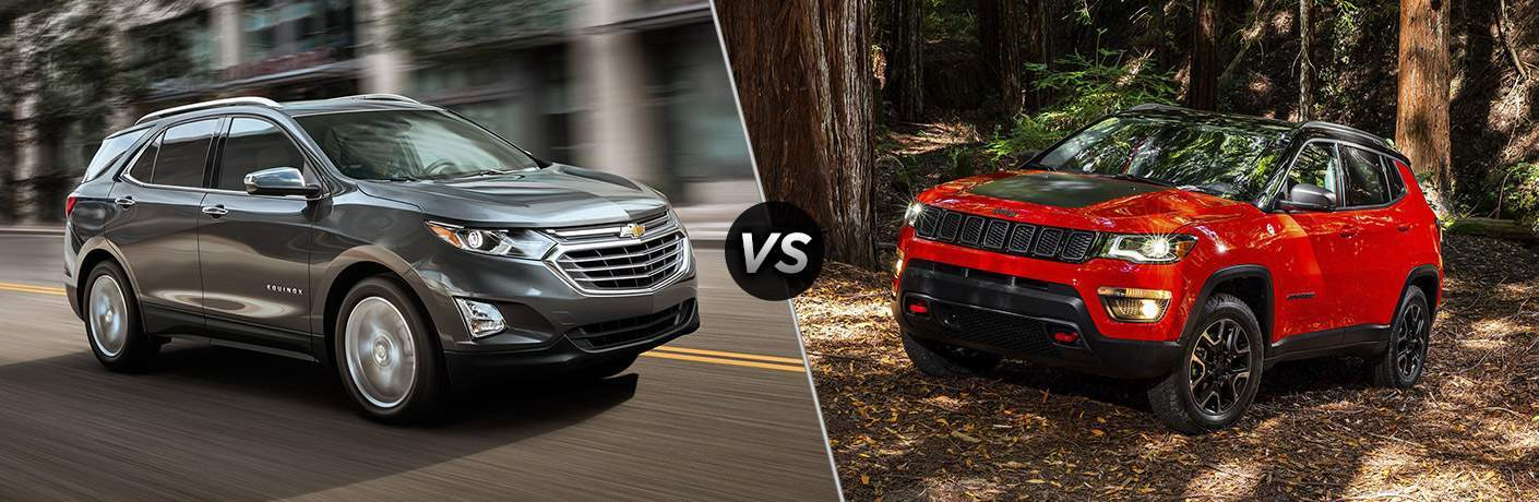 2018 Chevrolet Equinox vs 2017 Jeep Compass