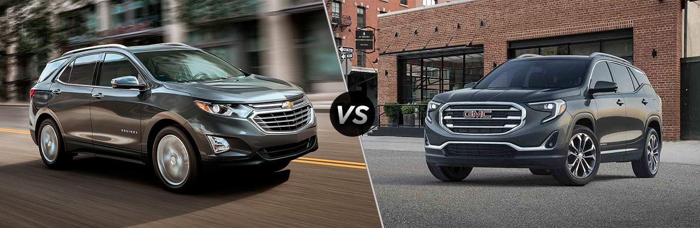 2018 Chevy Equinox vs 2018 GMC Terrain