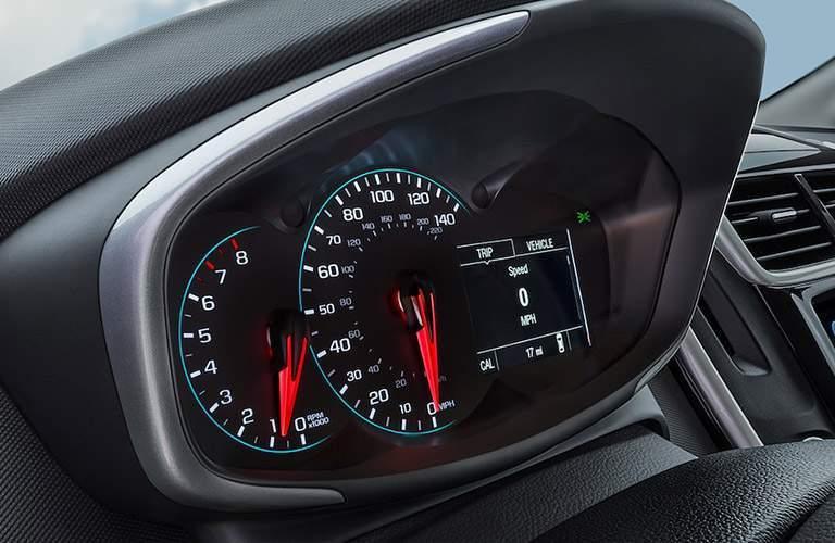 2018 Chevy Sonic speedometer