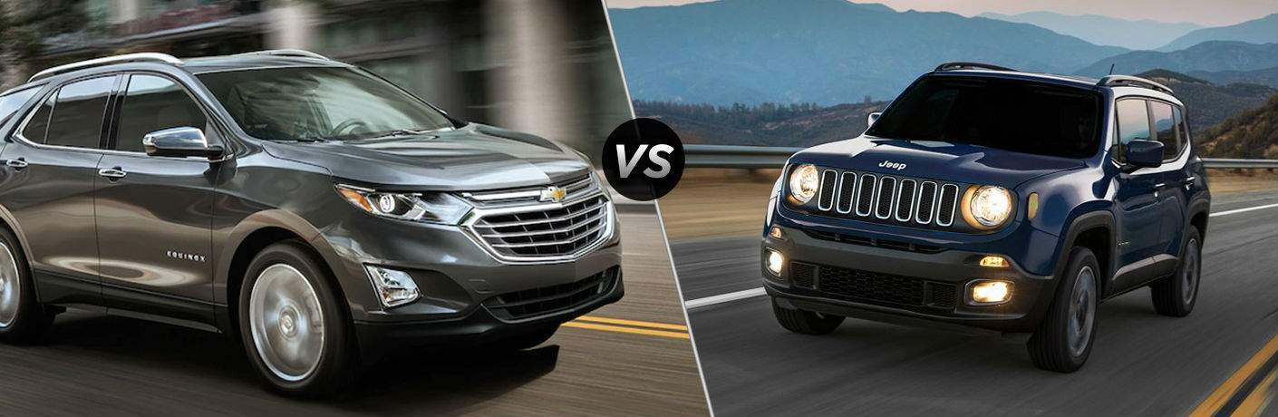 2018 Chevrolet Equinox vs 2017 Jeep Renegade