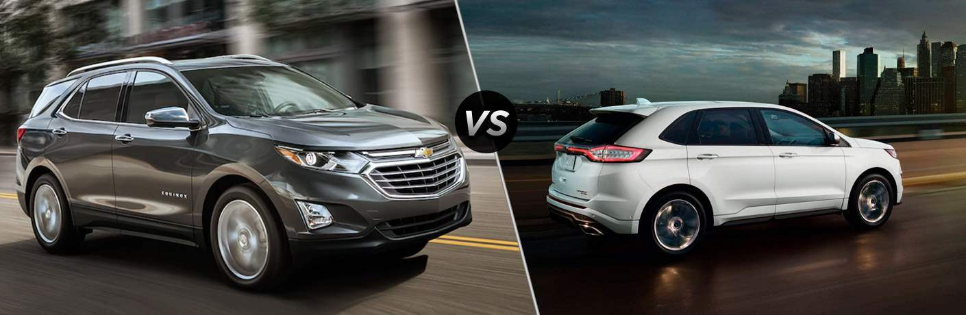 2018 Chevrolet Equinox vs 2017 Ford Edge