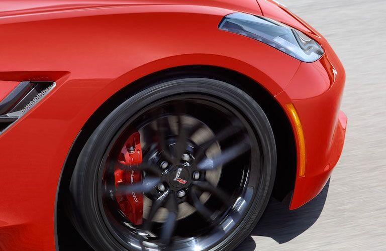 2018 Chevy Corvette Stingray Brembo® brakes