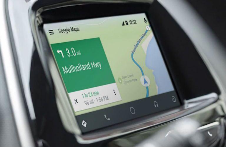 2018 Chevy Spark navigation system