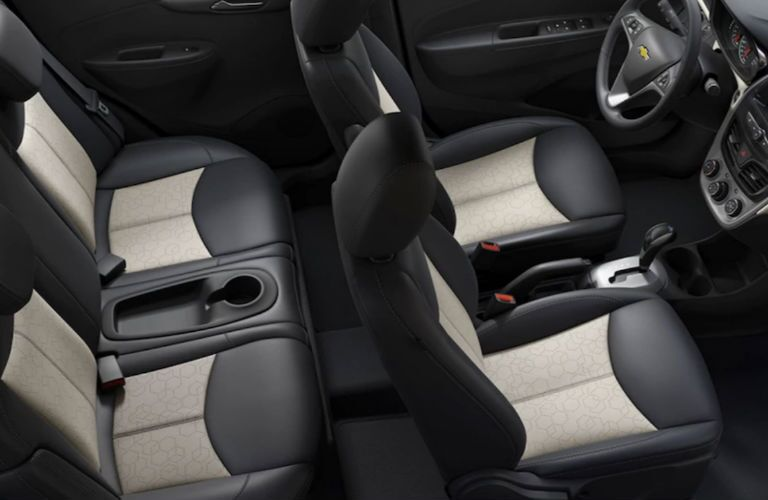 2018 Chevy Spark interior seats