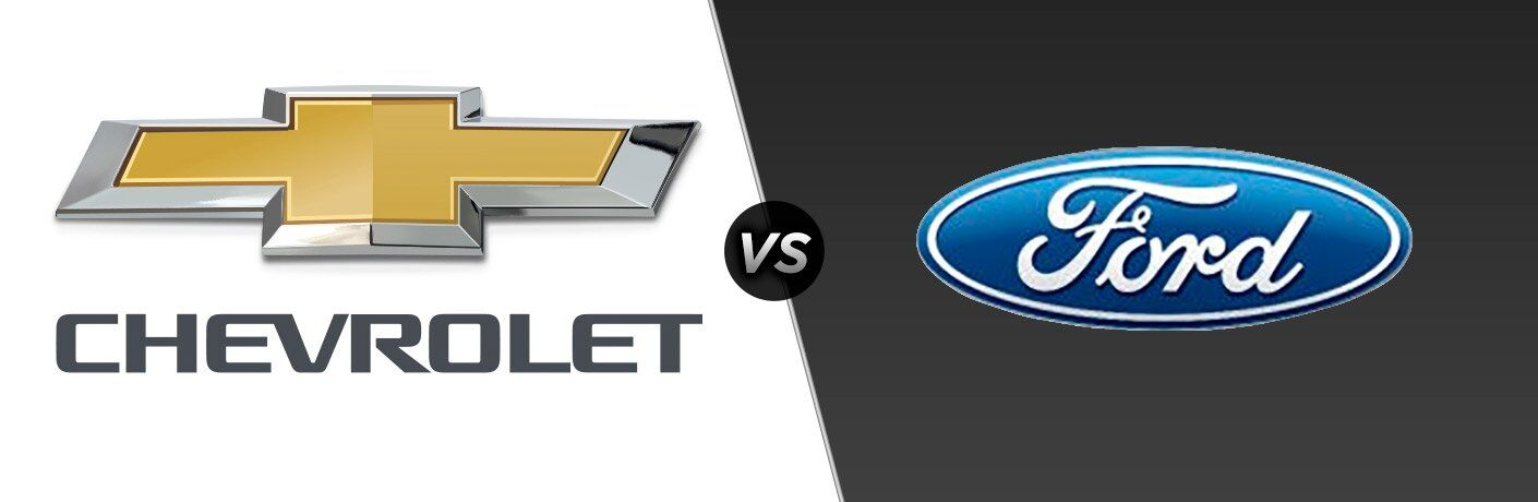 Chevy Vs Ford Brand Comparison - Chevrolet ford