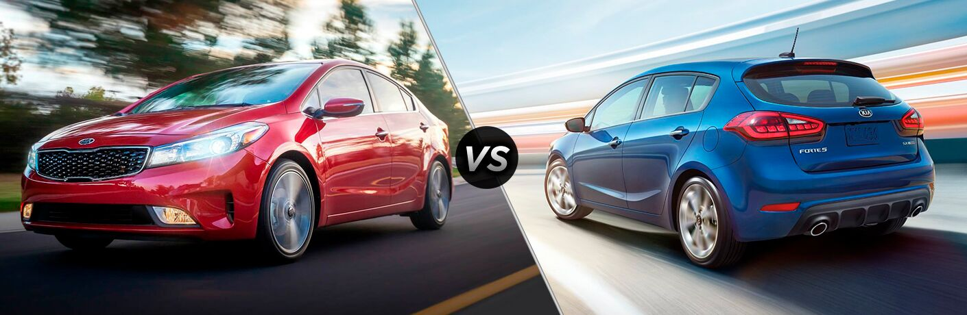 2018 kia forte and forte5 side by side
