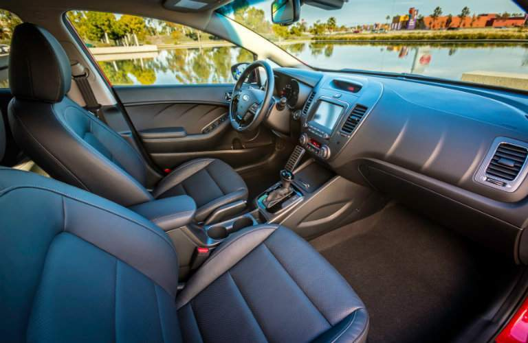 2018 kia forte leather interior
