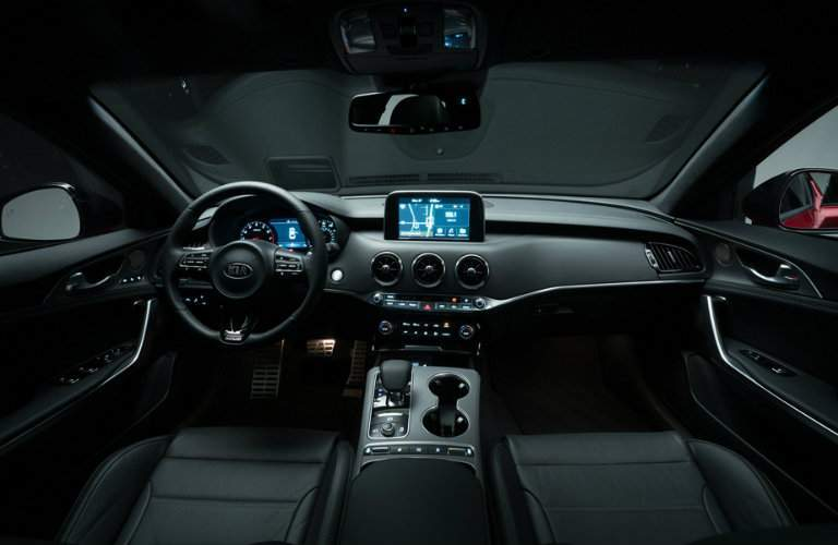 2018 kia stinger leather-appointed interior