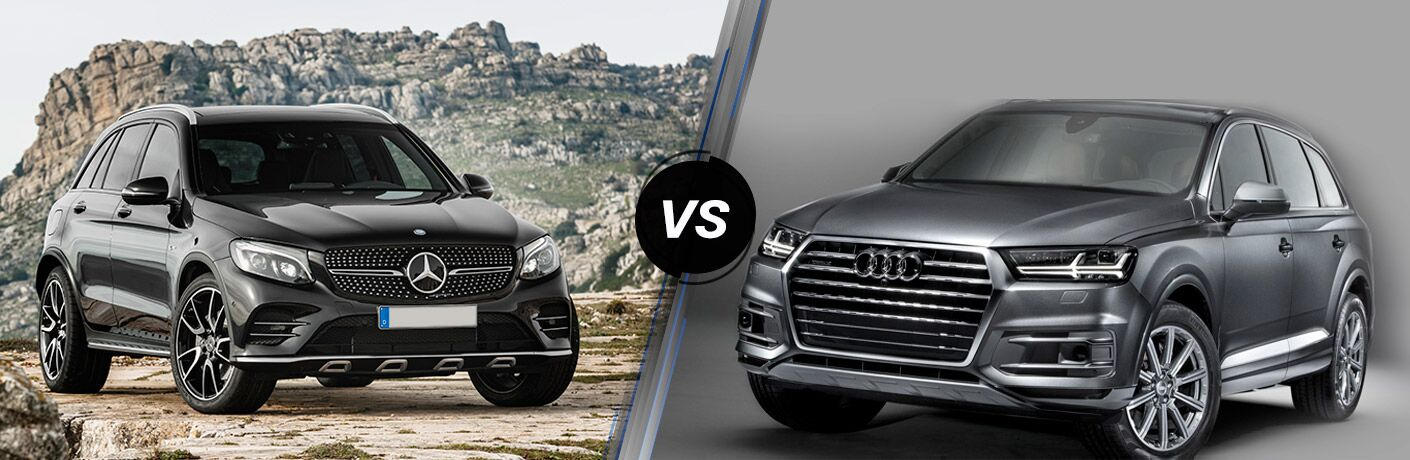 2017 Mercedes-Benz GLC SUV vs 2017 Audi Q7