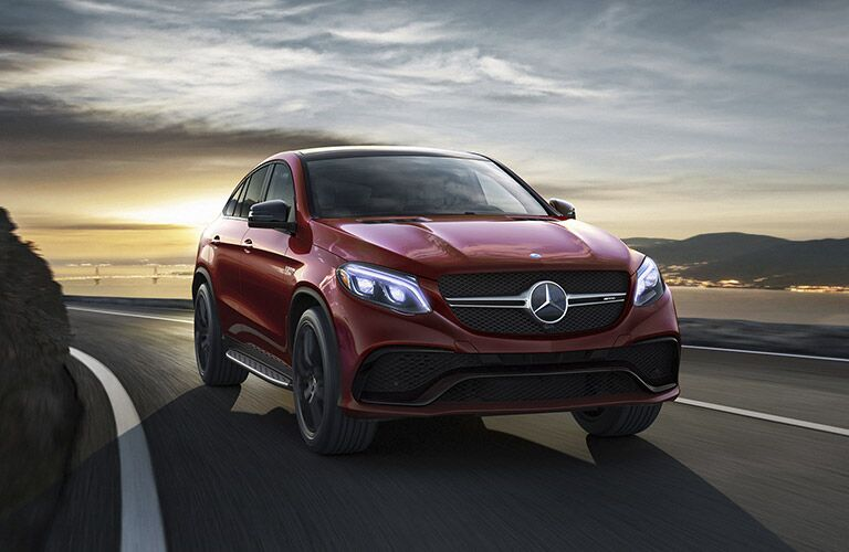 2017 Mercedes-Benz GLE Coupe SUV front exterior