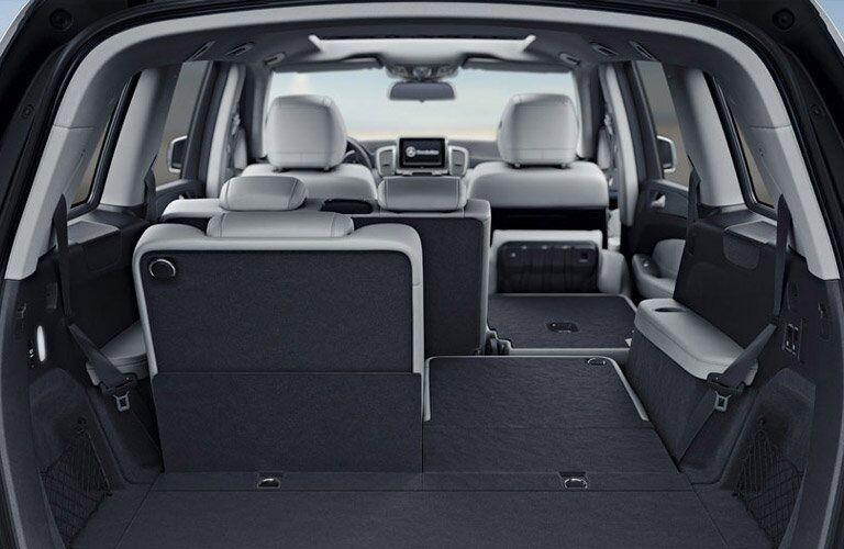 2017 Mercedes-Benz GLS Cargo Space