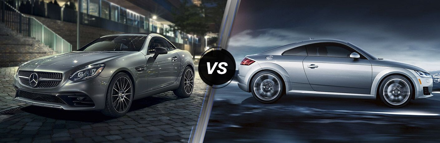 2017 Mercedes-Benz SLC vs 2017 Audi TT