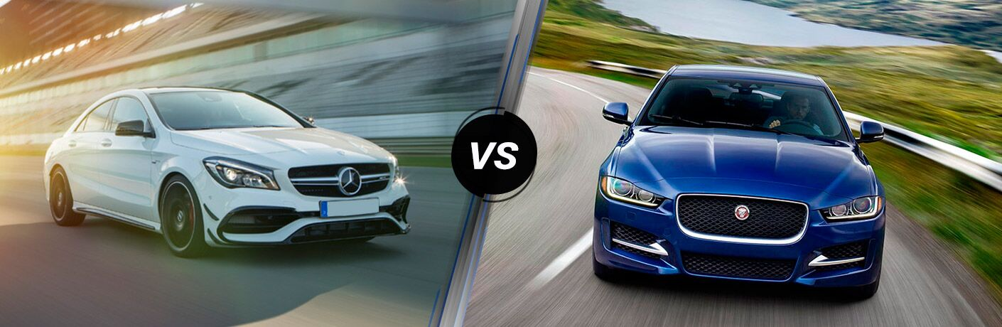2017 Mercedes-Benz CLA vs 2017 Jaguar XE
