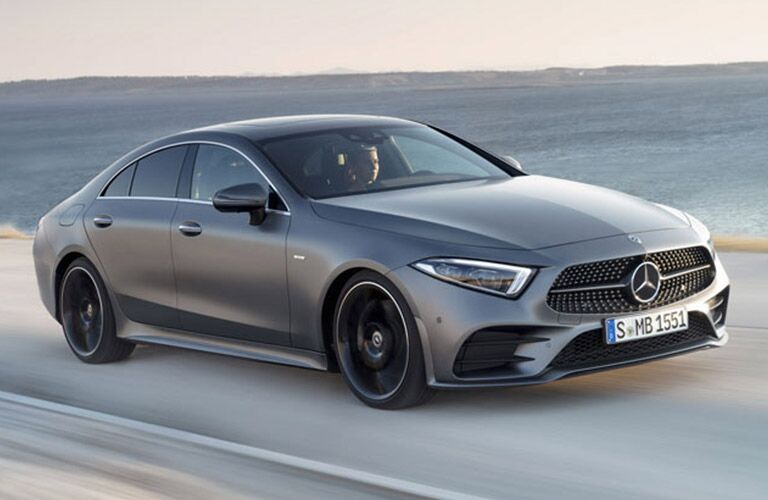 Mercedes-Benz CLS on the road