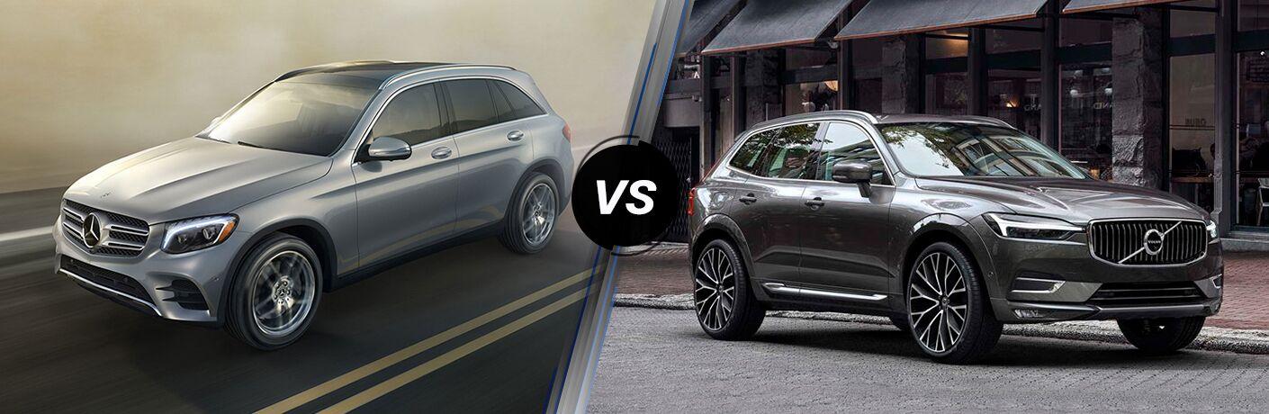 2019 Mercedes-Benz GLC vs 2019 Volvo XC60 comparison image