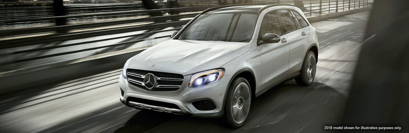 2018 Mercedes-Benz GLC in White Exterior Paint