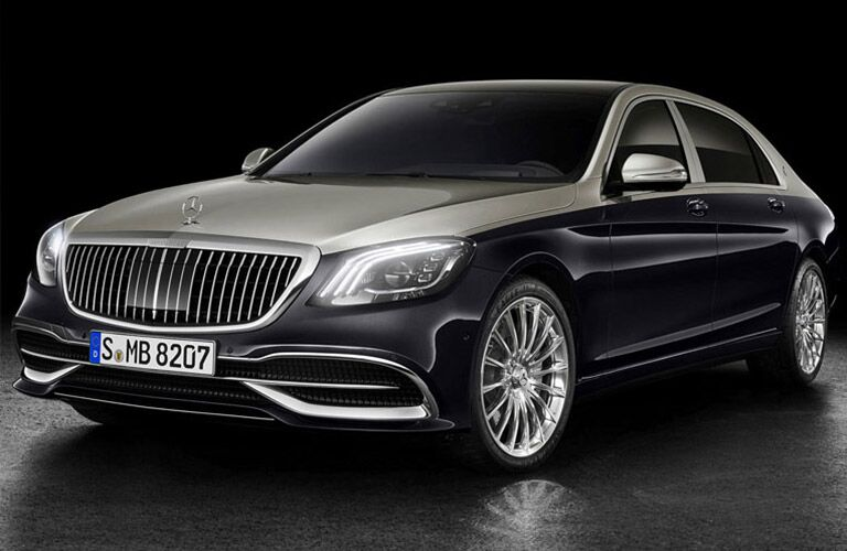 2019 Mercedes-Benz S-Class on a black background
