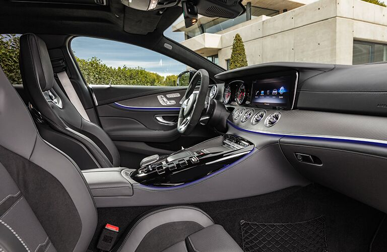 Interior view of 2019 Mercedes-AMG® GT Coupe