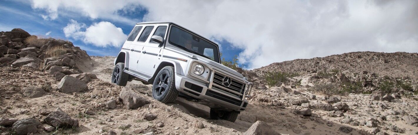 2021 Mercedes-Benz G-Class on rocks