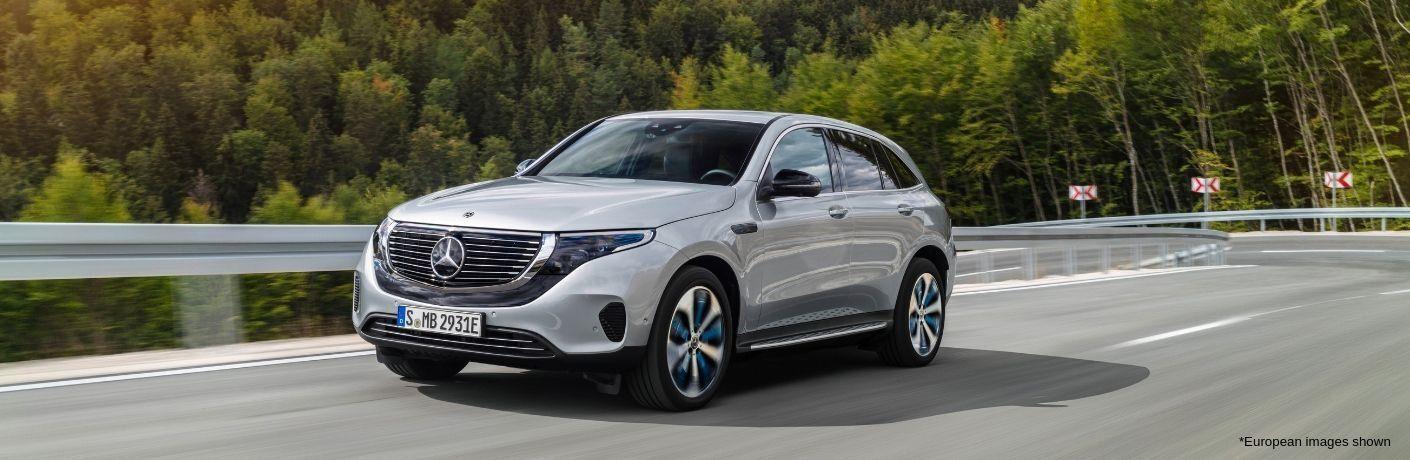 Silver 2020 Mercedes-Benz EQC