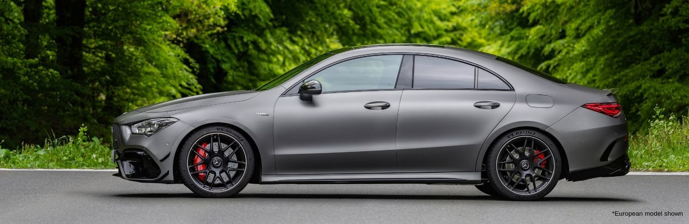 Silver 2020 Mercedes-AMG® CLA 45 European model