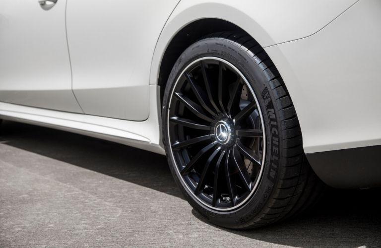 Closeup of wheel on 2020 Mercedes-AMG® GT 4-Door Coupe