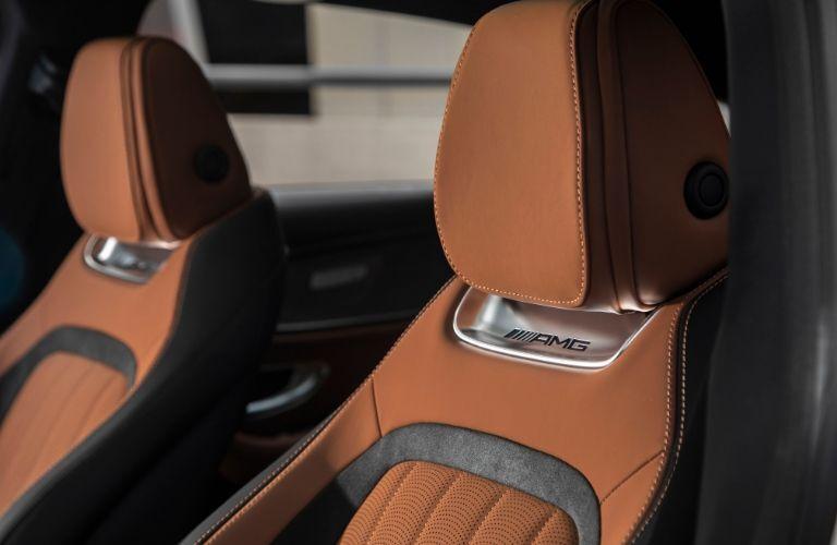 Seatbacks in 2020 Mercedes-AMG® GT 4-Door Coupe