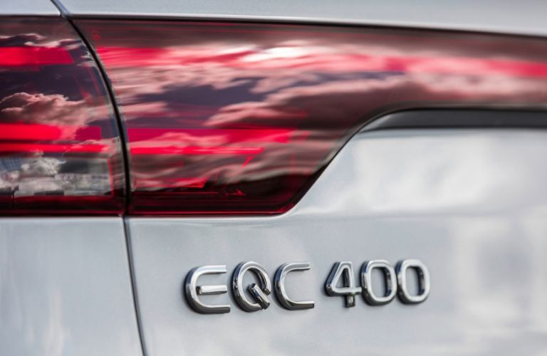 """EQC 400"" badging on 2020 Mercedes-Benz EQC"