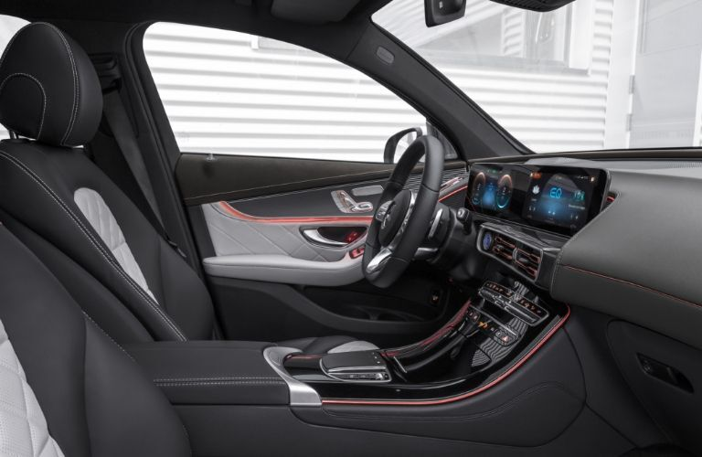 Interior view of 2020 Mercedes-Benz EQC